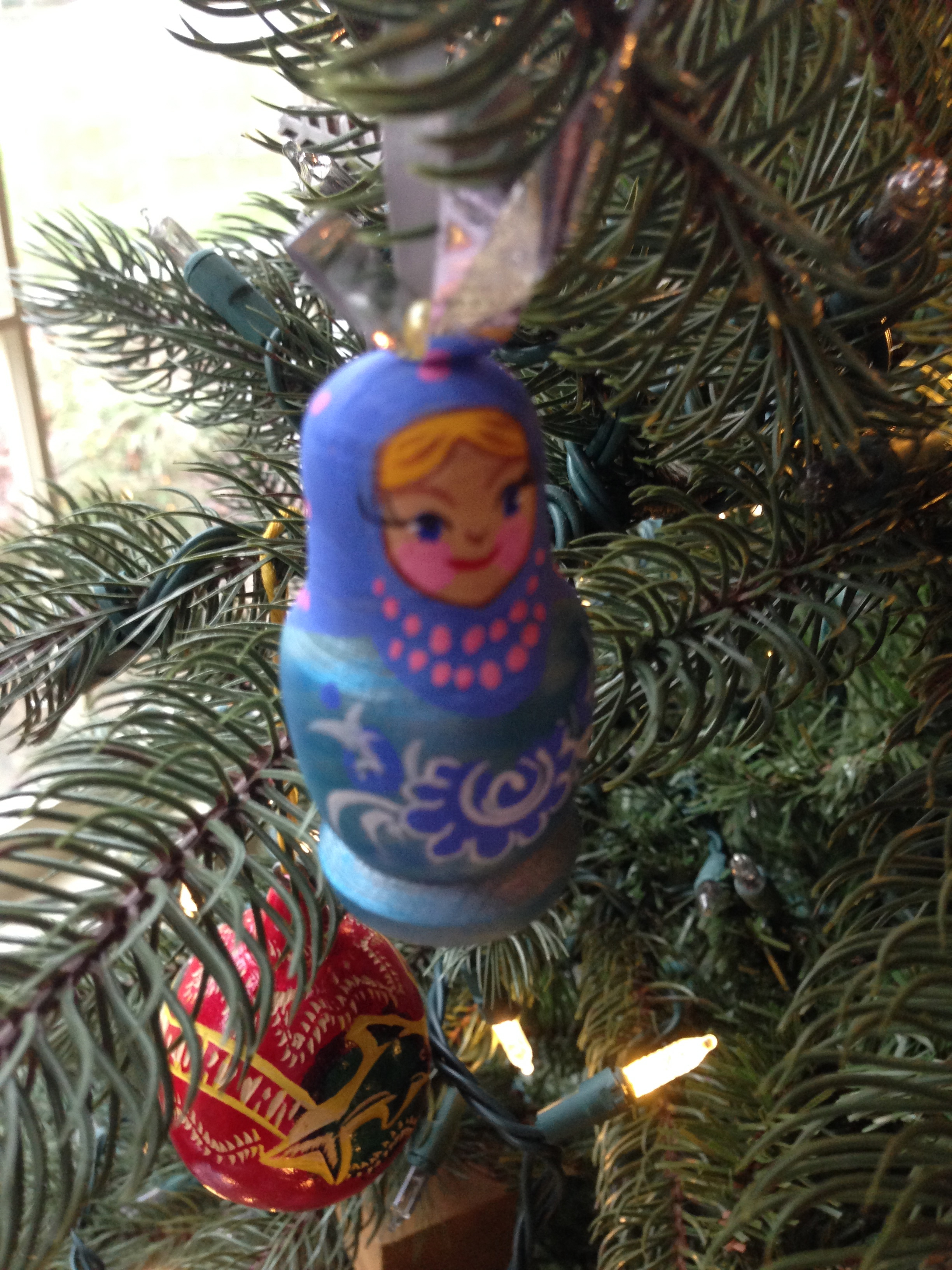 Ukrainian christmas ornaments - Celebrating Katya S Ukrainian Culture We Had A Friend Bring These Handmade Ornaments Back From A
