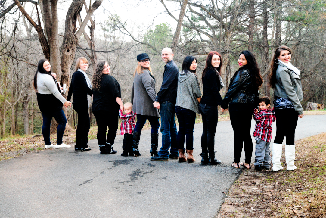 Our family, December 2013