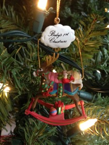 One of Kristan's first ornaments - 1995.